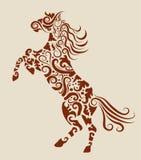 Ornamento decorativo del caballo Foto de archivo
