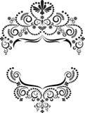 Ornamento decorativo do frame. Artes gráficas. Fotos de Stock Royalty Free