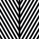 Ornamento decorativo, modello figurato di progettazione con i triangoli bianchi neri a strisce Fondo, struttura con ottico illustrazione di stock