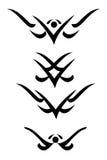 Ornamento decorativo tribal ilustração stock