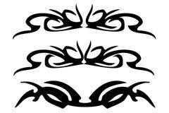 Ornamento decorativo tribal Imagem de Stock
