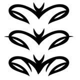 Ornamento decorativo tribal ilustração do vetor