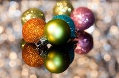 Ornamento decorativos do Natal Foto de Stock Royalty Free