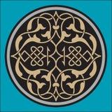Ornamento del árabe de Bahtiyar Fotografía de archivo