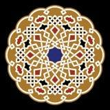 Ornamento del árabe de Berrechid Fotos de archivo libres de regalías