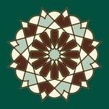 Ornamento del árabe de Bonab Imágenes de archivo libres de regalías