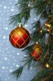 Ornamento del árbol de navidad fotos de archivo libres de regalías