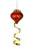 Ornamento del árbol de navidad imagen de archivo libre de regalías