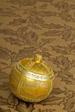 Ornamento del árbol de navidad fotografía de archivo