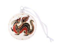 Ornamento del Año Nuevo. Imagenes de archivo