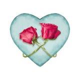 Ornamento del adorno del amor aislado Fotos de archivo libres de regalías