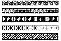 Ornamento del borde para el diseño del marco libre illustration