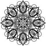 Ornamento del círculo ilustración del vector