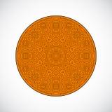 Ornamento del círculo. Foto de archivo libre de regalías