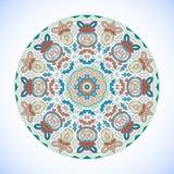 Ornamento del círculo. Imagen de archivo