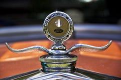 Ornamento del cappuccio di 1930 Ford Fotografie Stock Libere da Diritti