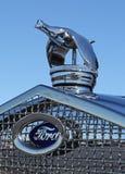 Ornamento del cappuccio di 1930 Ford Immagini Stock