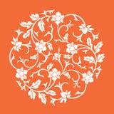 Ornamento del chino del vector Fotografía de archivo libre de regalías
