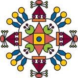 Ornamento del color Imagen de archivo libre de regalías