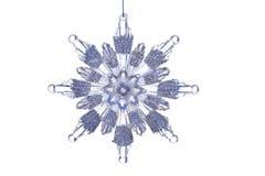 Ornamento del copo de nieve Imagenes de archivo