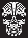 Ornamento del cráneo Foto de archivo libre de regalías