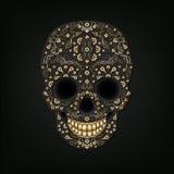 Ornamento del cráneo ilustración del vector