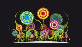 Ornamento del fiore Immagini Stock Libere da Diritti