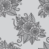 Ornamento del fiore Immagine Stock