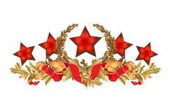 Ornamento del fiore Fotografie Stock