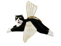 Ornamento del gatto di angelo immagine stock