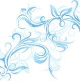 Ornamento del gelo di finestra Immagine Stock