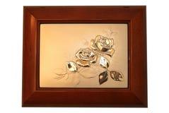 Ornamento del joyero foto de archivo