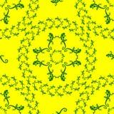 Ornamento del lagarto Imagenes de archivo