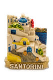 Ornamento del magnete da Santorini Immagine Stock Libera da Diritti