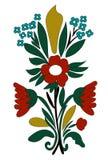 Ornamento del mazzo del fiore di vettore Immagini Stock Libere da Diritti