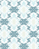 Ornamento del modelo del damasco del vector Textura de lujo elegante para la materia textil, las telas o los fondos de los papele libre illustration