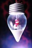 Ornamento del muñeco de nieve Fotografía de archivo libre de regalías