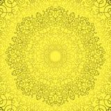 Ornamento del pizzo del cerchio, Fotografia Stock Libera da Diritti