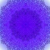 Ornamento del pizzo del cerchio, modello geometrico rotondo Fotografia Stock Libera da Diritti