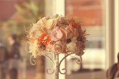 Ornamento del ramo de la flor Foto de archivo libre de regalías