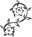 Ornamento del tatuaggio immagini stock libere da diritti