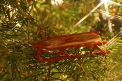 Ornamento del trineo imagen de archivo libre de regalías