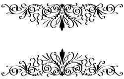 Ornamento del vector en estilo de la flor Fotografía de archivo
