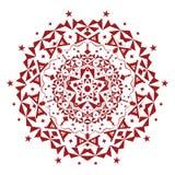 Ornamento del vector Ilustración hermosa colorido Fotos de archivo