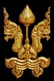 Ornamento del vintage plateado oro floral Imagen de archivo libre de regalías
