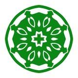 Ornamento dell'illustrazione di vettore con i motivi caucasici isolato Fotografia Stock Libera da Diritti