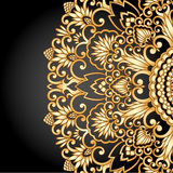 Ornamento dell'oro di vettore. Immagine Stock Libera da Diritti