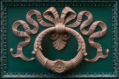 Ornamento della maniglia di porta Fotografia Stock Libera da Diritti