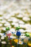 Ornamento della rana Immagini Stock