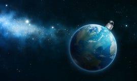 Ornamento della terra Immagine Stock